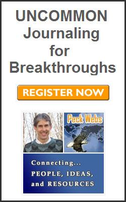 Register Now for UNCOMMON Journaling for Breakthroughs webinar