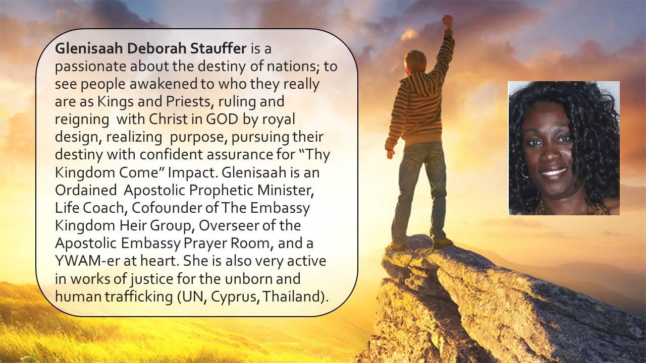 Glenisaah Stauffer bio