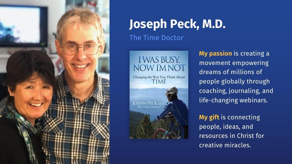 Joseph Peck passion